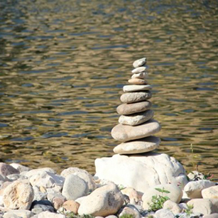 cairn-stones-water-river-nature-photo
